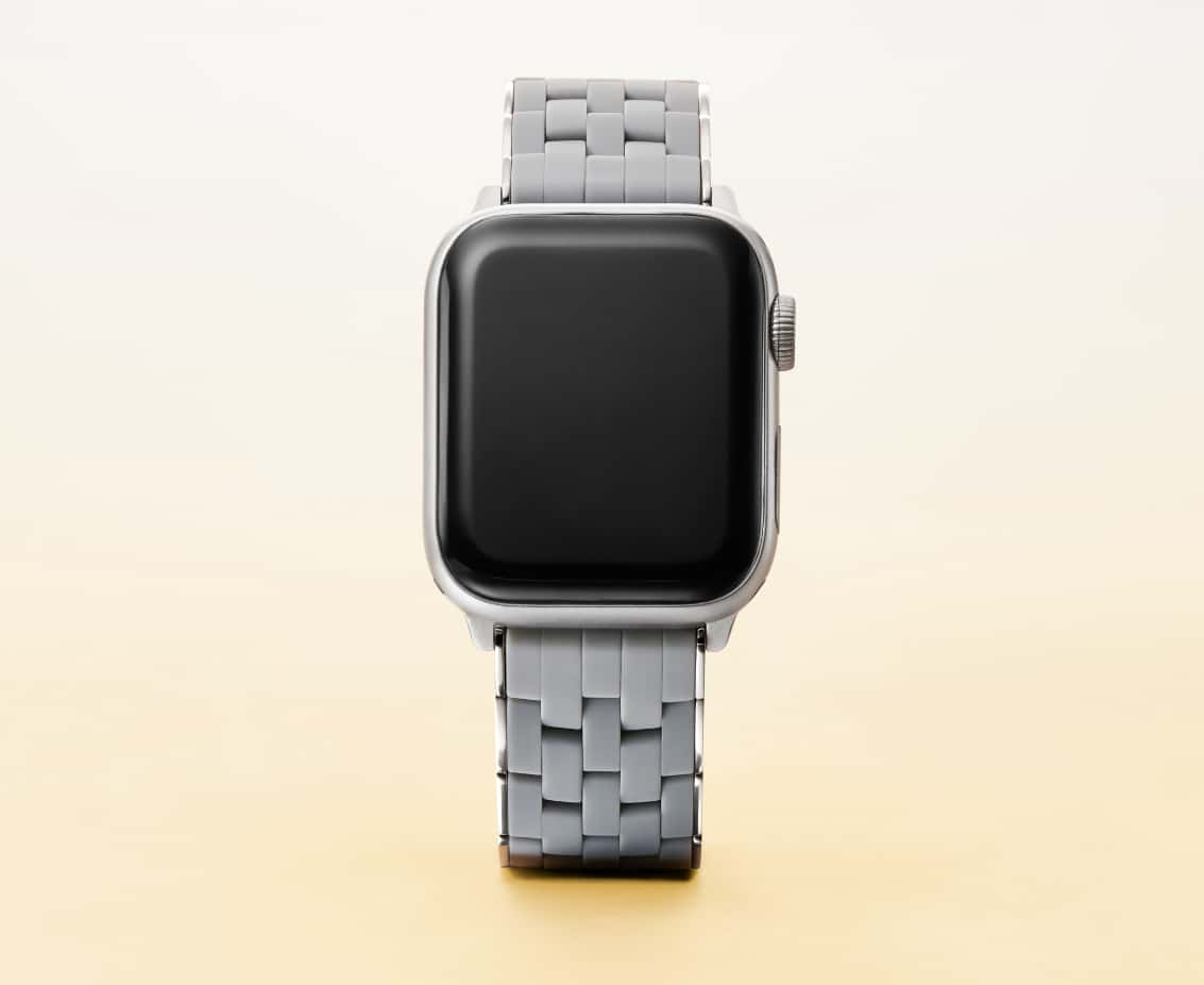 Apple Watch® band in slate.