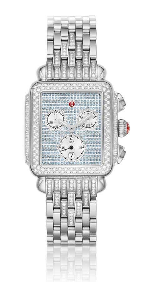 Limited-Edition Deco Diamond Sapphire